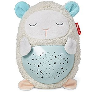 Skip Hop Moonlight & Melodies Hug Me Projection Soother, Lamb