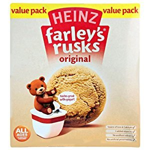 Farleys Rusks 4 Month Original 18 Pack 300g