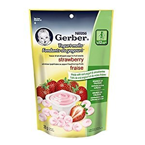 Gerber Strawberry Yogourt Melts, 28g (7 pack)