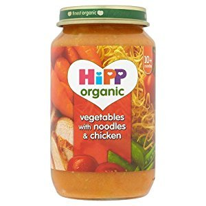 Hipp 10 Month Organic Vegetable Noodles & Chicken Jar 250g