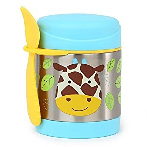 Skip Hop Zoo Little Kids & Toddler Stainless Steel Insulated Food Jar, Jules Giraffe