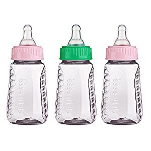 Gerber Graduates First Essentials Clear View Bottle, Slow Flow, 3 Count