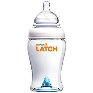 Munchkin Latch BPA-Free Bottle, 8 Ounce, 3 Count