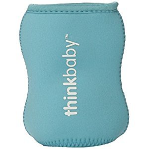 Thinksport sleeve_blue Feeding Bottle, Blue
