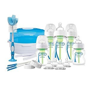 Dr Brown's Options Deluxe Newborn Gift Set