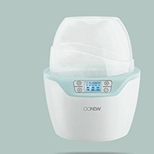 AZTK Milk Warmer Disinfection 2 in 1 Baby Milk Bottle Warmer Constant Temperature Intelligent TB-1406 Heater (blue, two bottle)