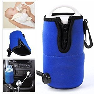Generic ....ood Milk He Car Feeding et To Food Milk Heater Set ood Mil Warmer 12V avel Car Baby Bottle Tool e Warme Cable Travel y B