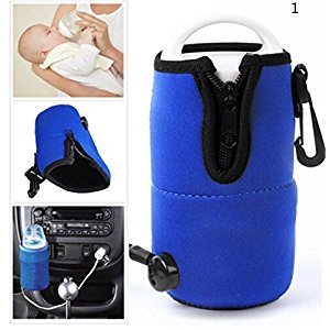 OKOKMALL US--Portable 12V in Car Auto Travel Baby Food Milk Water Bottle Cup Warmer Heater GT