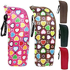 OKOKMALL US--Portable Travel Baby Kid Feeding Milk Bottle Warmer Storage Holder Carrier Bag C
