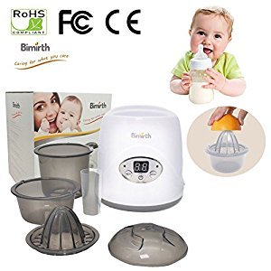 Per 3-In-1 Breast Milk Warmer Baby Feeding Bottle Warmers&Steam Sterilizer With Led Display