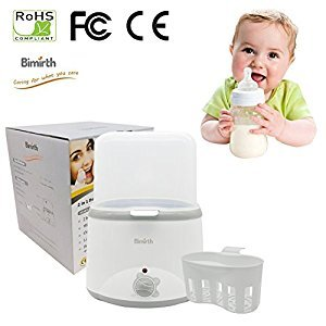 Per Breast Milk Warmer Baby Feeding Bottle Warmers&Steam Sterilizer For Double Bottle