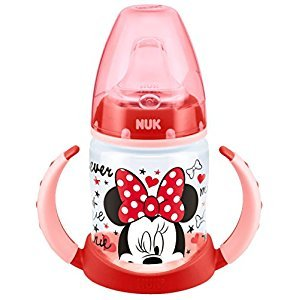 NUK First Choice Mickey and Minnie Learner Bottle (Red)