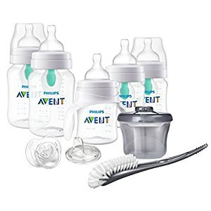 Philips Avent Anti-Colic Bottles with Air Free Vent Newborn Starter Set