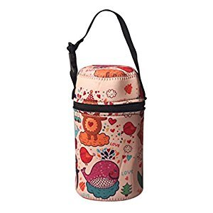 Practical Kids Bag Portable Stew Beaker Bag, a(10*18.5CM)