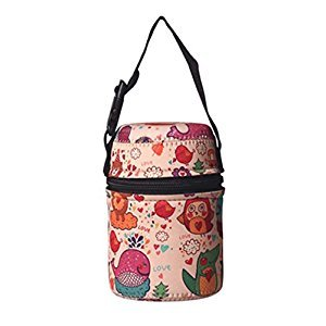 Practical Kids Bag Portable Stew Beaker Bag, b(10*13CM)