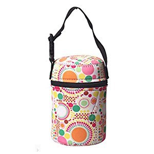 Practical Kids Bag Portable Stew Beaker Bag, d(10*13CM)