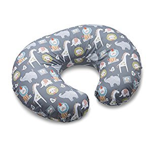 Boppy Nursing Pillow and Positioner, Sketch Slate, Gray