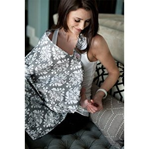 Udder Covers Breast Feeding Nursing Cover Grace, Grey