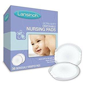 Lansinoh First Days Ultra Soft Nursing Pads, 20250 - 36 Each