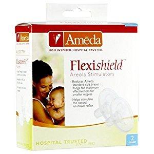 Ameda Flexshield Aereola Stimulator - 2 Pk