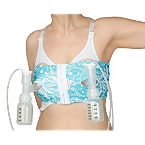 PumpEase hands-free pumping bra - TaTa Turquoise - S