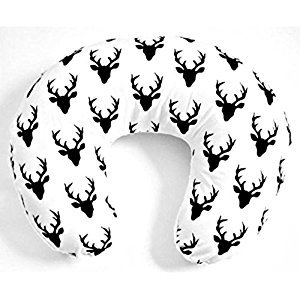 100% Premium Cotton Slipcover for Nursing Pillow - Cotton Deers