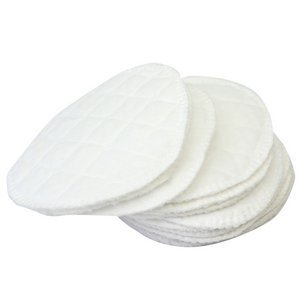 12pcs New White Reusable Breastfeeding Baby Feeding Soft Nursing Pads Washable