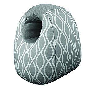 Itzy Ritzy Milk Boss Infant Feeding Support Pillow/ Platinum Helix