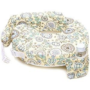 My Brest Friend Nursing Pillow, Buttercup Bliss, Yellow, Green