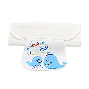 2 PCS Baby Towels for Sweat Absorbent Towel with Fish Pattern Style, M