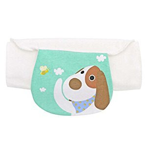 2 PCS Lovely Dog Pattern Towels Baby Sweat Absorbent Towel, 32x24 cm