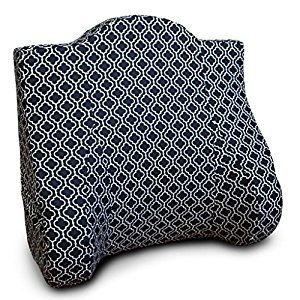 Back Buddy Nina Cotton Slipcover, Black/White