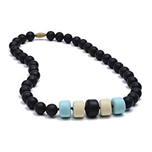 Chewbeads Essex Teething Necklace, Black
