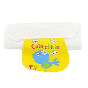 Set of 2 Babies Towels for Sweat Absorbent with Lovely Bird Pattern, M