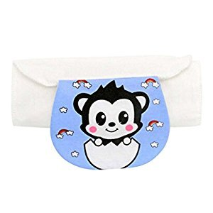 Set of 2 Cotton Material Medium Size Baby Sweat Absorbent Towels