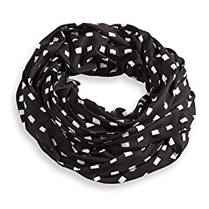 Mud Pie Bundle of Joy Nursing Scarf, Black Check