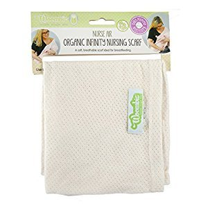 Woombie NURSE AIR Infinity Nursing Scarves, Cream