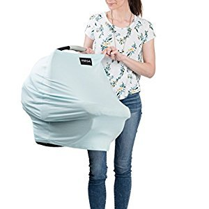 AS SEEN ON SHARK TANK The Original Milk Snob Infant Car Seat Cover and Nursing Cover Multi-Use 360° Coverage Breathable Stretchy - St. Thomas