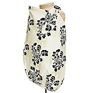 Balboa Baby Nursing Cover Lola, White, Black,