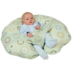 Leachco Cuddle-U Original Nursing Pillow, Sunny Circles