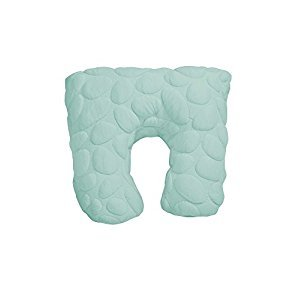Nook Niche Organic Feeding Pillow in Sea Glass