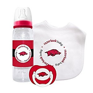Baby Fanatic Gift Set - Arkansas, University of by Baby Fanatic