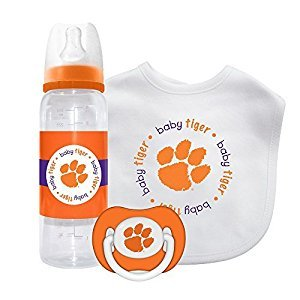 Baby Fanatic Gift Set - Clemson University by Baby Fanatic