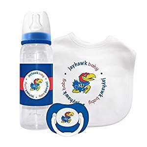 Baby Fanatic Gift Set - Kansas, University of by Baby Fanatic