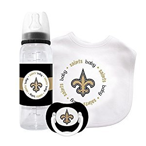 Baby Fanatic Gift Set - New Orleans Saints by Baby Fanatic