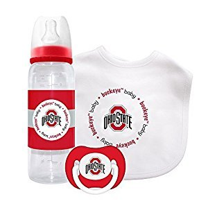 Baby Fanatic Gift Set - Ohio State University by Baby Fanatic