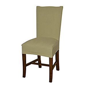 Bellboni - chair cover, fitted cover, fitted chair cover, bi-elastic, stretch, cream