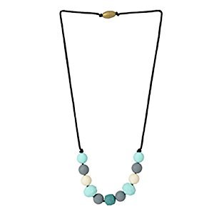Chewbeads Chelsea Necklace, Multi Turquoise