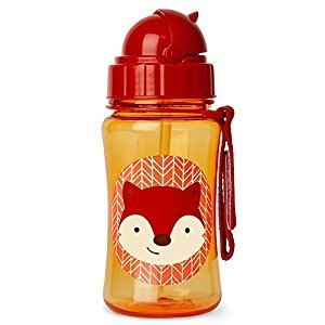 Skip Hop Zoo Straw Bottle - New Fox
