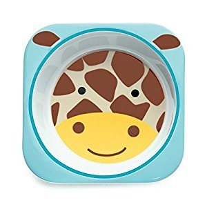 Skip Hop Zoo Tableware, Bowl, Jules Giraffe